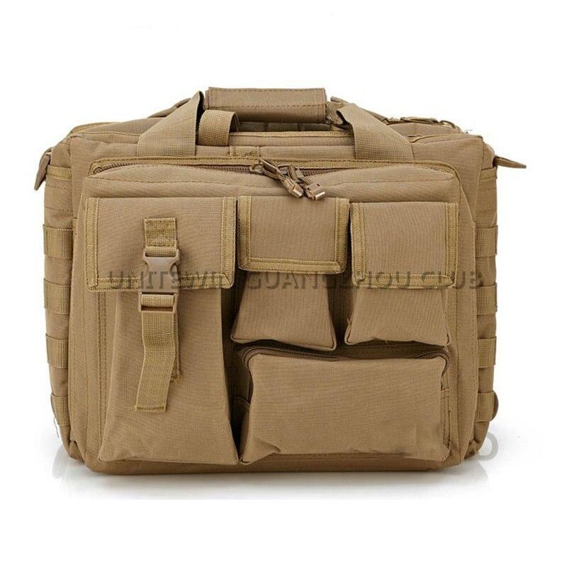 Chasse tir tactique pochette d'ordinateur armée militaire spécial Fores sac à bandoulière en plein air Sport pour hommes randonnée Messenger sac