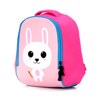 Toddler Kids Cute Animal Printing Backpack Children 3D Neoprene School Bags Kindergarten Baby Girls Boys Cartoon
