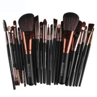 22pcs Cosmetic Makeup Brushes Set Blusher Eyeshadow Powder Foundation Eyebrow Lip Make Up Brush