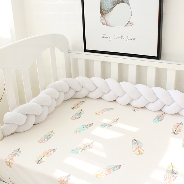 Soft & Fluffy Baby Crib Protector
