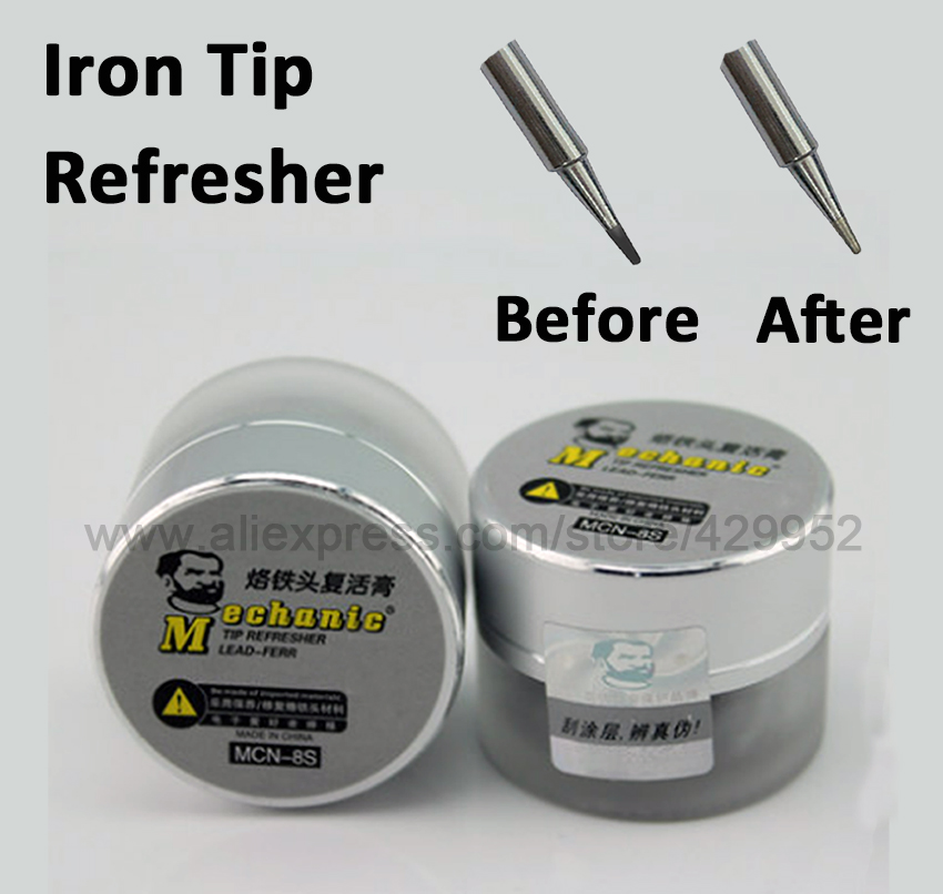 MCN-8 Soldering Iron Tip Refresher Clean Paste for Oxide Solder Head Resurrection Repair Tools