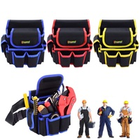 Y1 Multifunctional Thickened Canvas Tool Bag Oxford Cloth Electrical Tools Carpenter Belt Bag