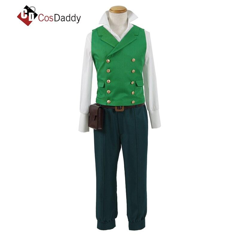 CosDaddy My Hero Academy Cosplay Costume ED Green Valley Warrior