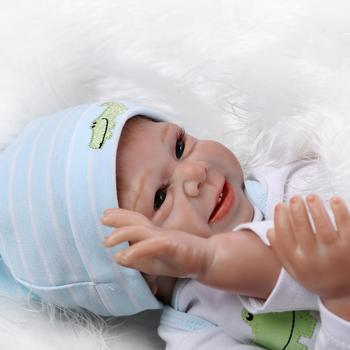 Silicone reborn baby doll toys for girls play