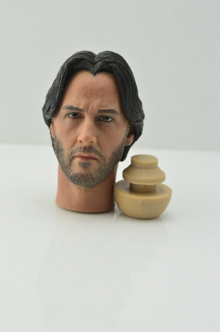 Supreme 1//6 Scale Civil War Tony Stark Battle Damage Version Head Sculpt