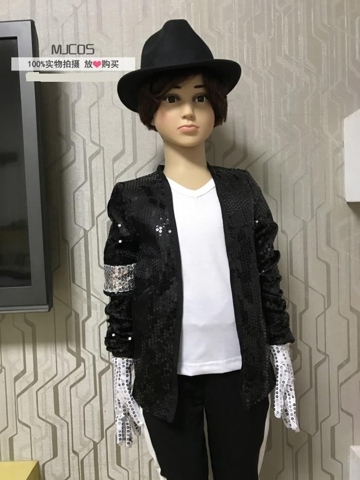 Michael Jackson Cosplay MJ Cos Kinderkostüm 6pcs MJ Billie Jean - Kostüme