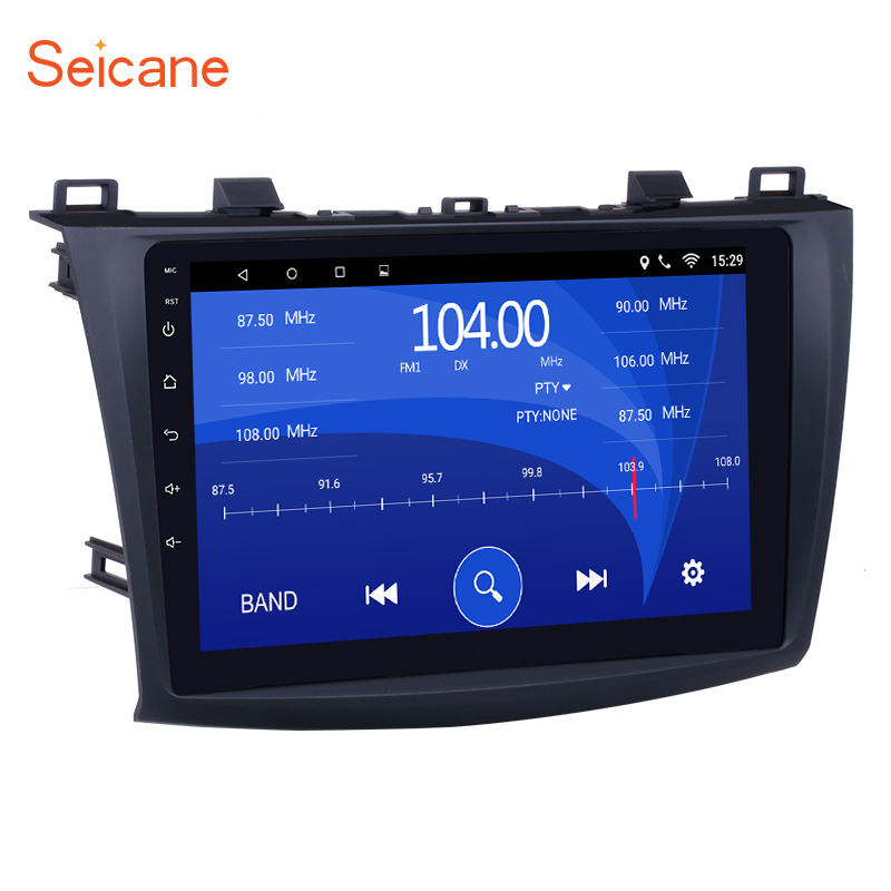 Seicane 2Din Android 6.0/7.1 9Car Radio For 2009 2010 2011 2012 MAZDA 3 GPS Navigation Multimedia Player Support Bluetooth WIFI