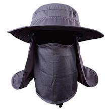 Fishing Suns Anti UV Daiva Protection Face Neck Flap Sun Cap Headband Sun Rain Hat Cap Fishing Hiking