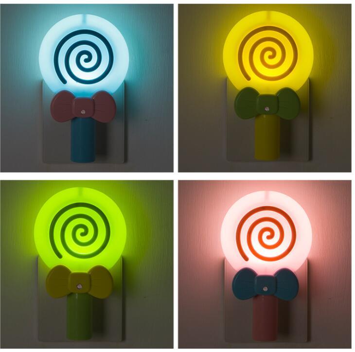 New lollipop night light LED plug-in night lightNew lollipop night light LED plug-in night light