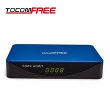 CAIXA de TV por satélite Rocomfree S929 ACM-T com Wifi Tunner GÊMEO para a América Do Sul Brasil Chile Peru CAIXA de Canais de TV em estoque