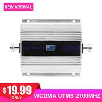3G WCDMA UMTS 2100MHZ Cellulare Amplificatore di Segnale LCD Cellulare Display Del Telefono Cellulare di Carico Utile Segnale di Comunicazione di Internet Ripetitore/