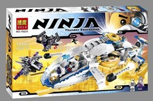 BELA Ninjacopter Zane Pixal Jet Fighter Glider Warrior Drone Figs Minifigures Building Blocks Toy Compatible With Lego NINJAGO