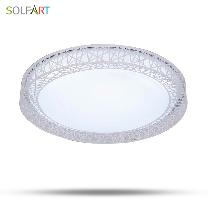 SOLFART lamp ceiling lights light fixtures plafonnier led remote control led chip dimmin ...