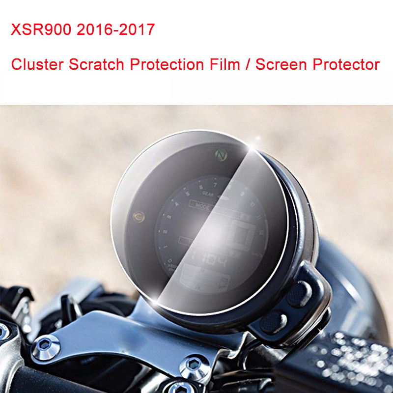 For Yamaha XSR900 2016-2017 Cluster Scratch Protection Film Screen Protector for Yamaha XSR900 2016-2017 yamaha dbr15