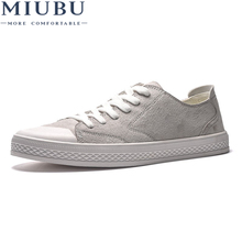 2018 new fashion spring autumn men canvas shoes casual flats breathable lightweight sneakers man lace up students shoes qa 43 MIUBU 2019 New Men Canvas Shoes Vulcanize Shoes Man Sneakers Unisex Lace-up Breathable Casual Walking Shoes Students Flats
