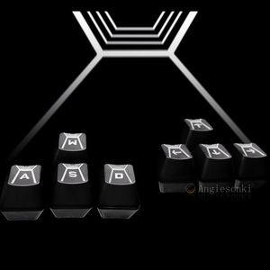 Image 2 - Original W A S D & direction arrow key caps for Log.itech G910 Romer G Mechanical Keyboard B3K T13L Romer G keyboard Switches