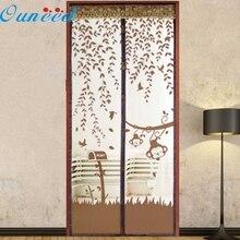 Ouneed top grand calificado verano prevenir mosquito cortina de puerta de pantalla magnética cortina imán paisaje 1 unid dropship