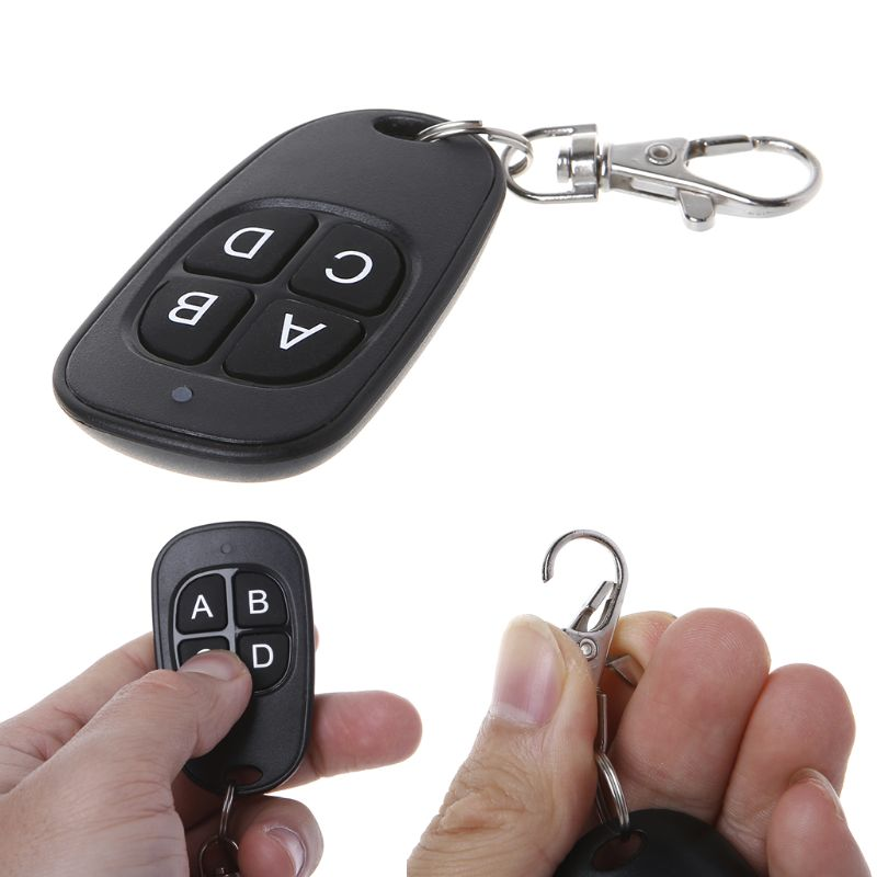 433MHz <font><b>315MHz</b></font> Copy <font><b>Remote</b></font> Control Cloning <font><b>Duplicator</b></font> Wireless 4 Keys <font><b>Universal</b></font> Waterproof Handle Garage Gate Electric Door Key F image