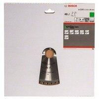 BOSCH 2608640430 Disco de serra circular Madeira 210x2 OptiLine  0x30D 48WZ/N