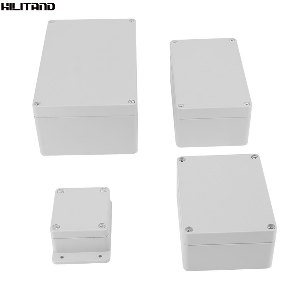 Water Resistant Ip65 Wiring Junction Box Abs Electrical Project Enclosure Instrument Case