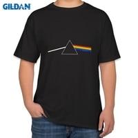 Pink Floyd Dark Side Of The Moon Tee 100 Cotton Summer Men Top T Shirt Plus