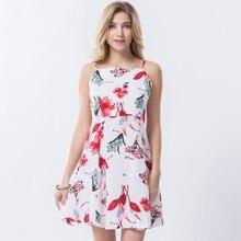 Bohemia Vintage Floral Short Beach Dress