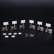 6pcs Classical Guitar Tuning Pegs Single Machine Heads Tuners Keys String Parts стоимость