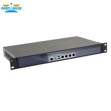 2G ram 32G SSD Partaker R2 маршрутизатор Mikrotik intel D525 двухъядерный 4 нити 1,8G Barebone pfsense межсетевой экран