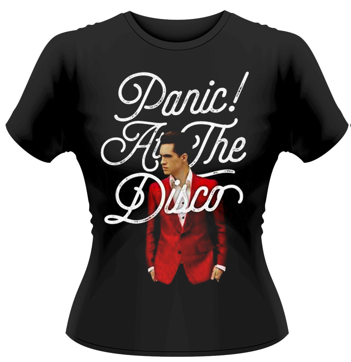 Panic! At The Disco BRENDON URIE Donna T-shirt ADERENTE - NUOVO E ORIGINALE 2018 Hot New Summer Women T Shirt Top Tee
