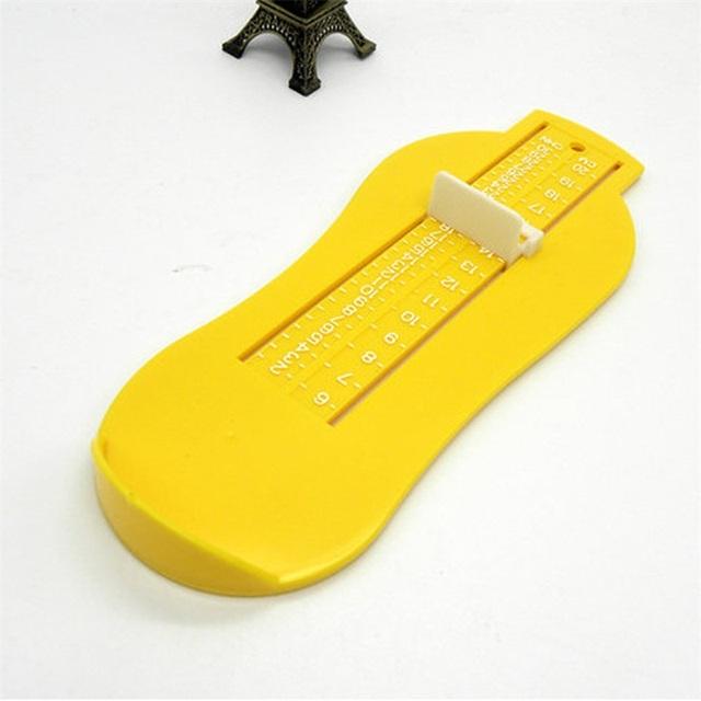 Infant Foot Measure Gauge Shoes Size Calculator Toddler Kids Foot Length Measuring Ruler Tool Shoes Fittings Gauge Device