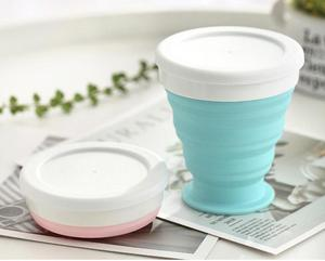 Image 2 - Portable Silicone Telescopic Drinking Collapsible Cup Folding Cups for Travelling