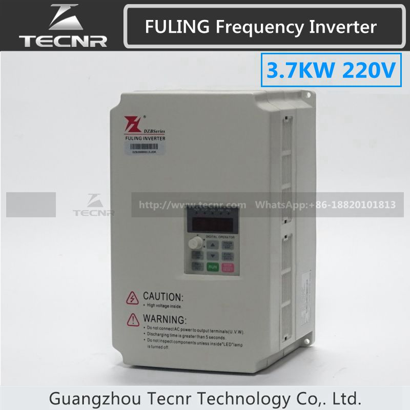 3.7KW frequenzumrichter wechselrichter 220 V für 3KW cnc spindelmotor FULING marke