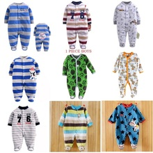 Autumn Baby Rompers Christmas Baby Boy Clothes Newborn Clothing Polar Fleece Baby Girl Clothes Roupas Bebe Infant Baby Jumpsuits summer baby rompers cotton baby girl clothes mickey baby boy clothes newborn baby clothes roupas bebe infant jumpsuits