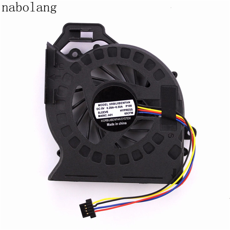 цена Nabolang Cpu cooling fan For HP Pavilion DV6 DV6-6000 DV6-6050 DV6-6090 DV6-6100 DV7 DV7-6000 Laptop fan