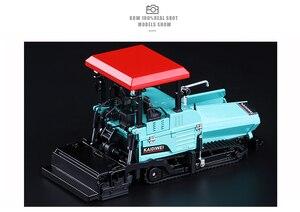 Image 4 - Simulation 1:40 Engineering Alloy Paver Paving Asphalt Highway Construction Car Vehicle Model Decoration Kid Toys Free Shipping