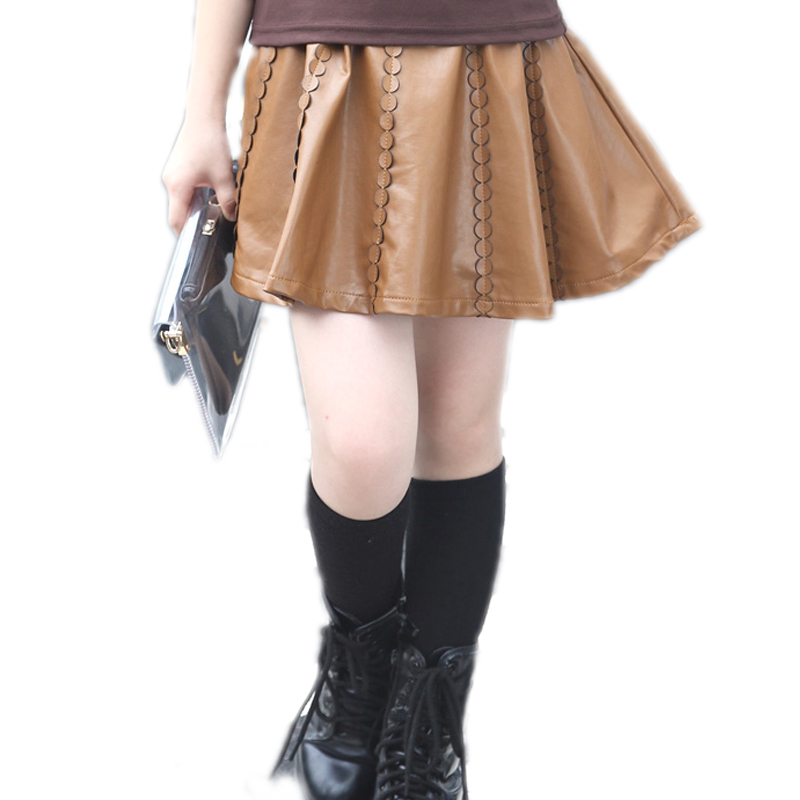 Online Buy Wholesale girls leather skirts from China girls leather ...