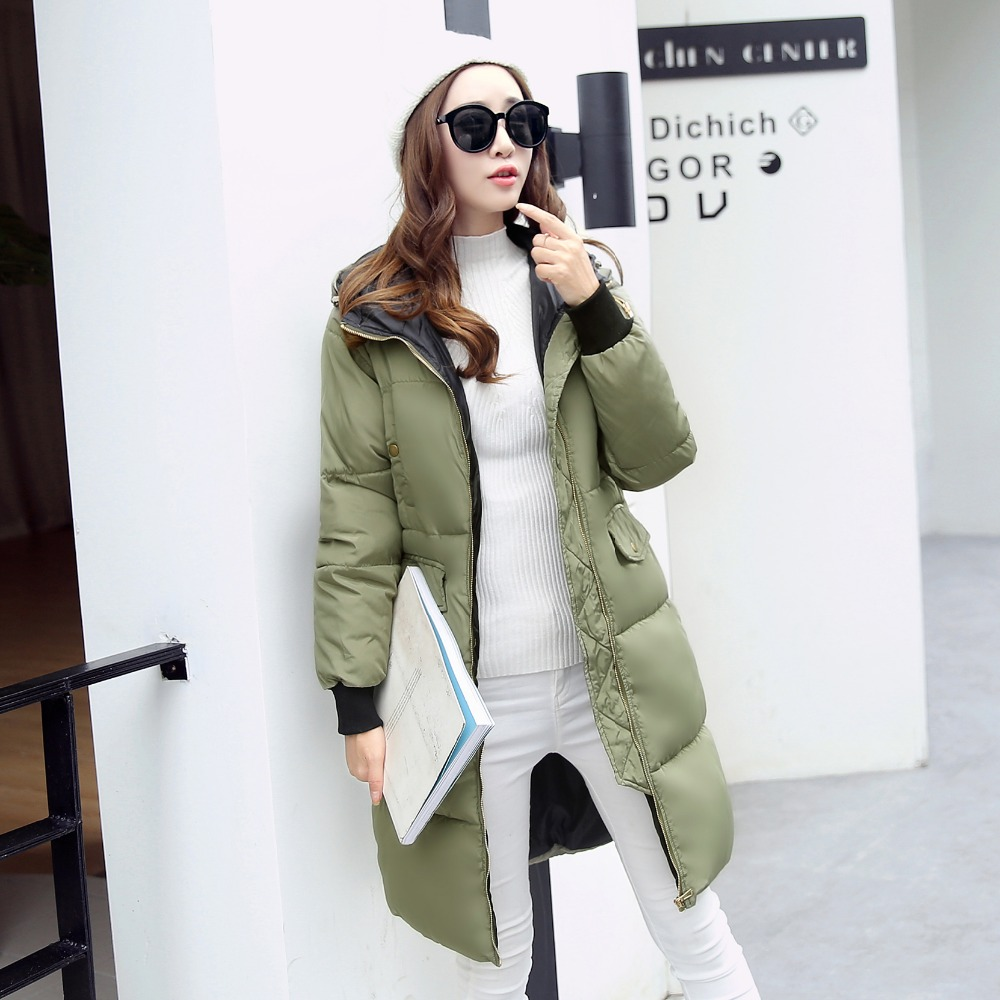 7-14 days To Moscow 2016 Winter Women's Cotton Slim Long Coat Hooded Parka Jackets Coats White Overcoat Plus Size Down Parkas winter keep warm thicken women s cotton slim long coat hooded parka jackets coats white overcoat plus size down parkas clothes