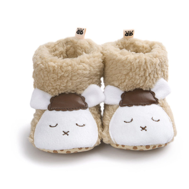 Cute Warm Cotton-padded Baby Booties for Infants | Fall Winter 2017 Collection