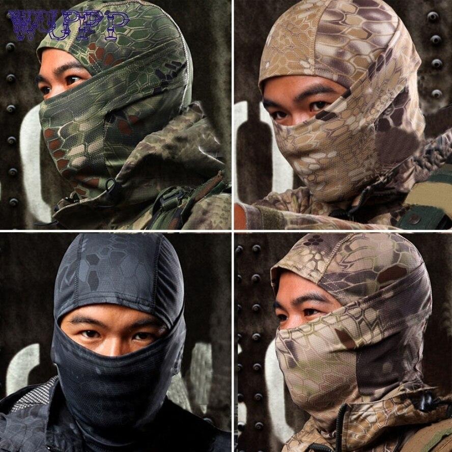 Nuovo Arrivo 1 PZ Camouflage Esercito Ciclismo Protezione Del Motociclo Balaclava Cappelli Full Face Mask auto-styling jn23