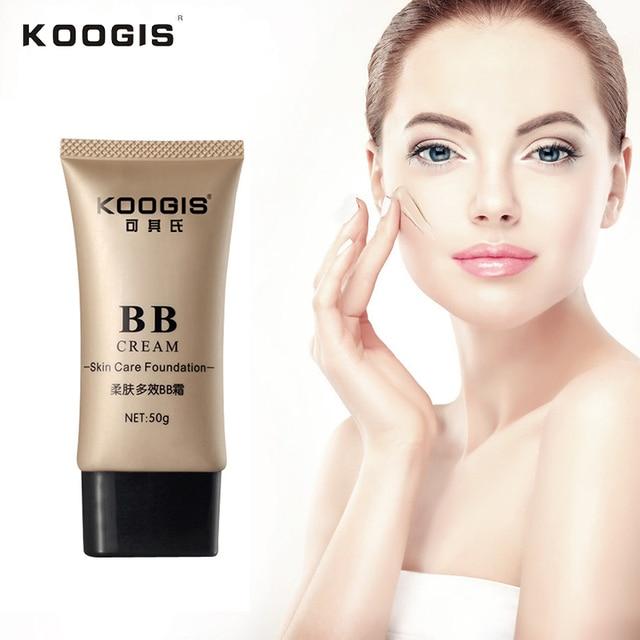 Koogis основа под макияж Face Жидкая Основа BB крем корректор Отбеливание Увлажняющий крем масло-контроль Водонепроницаемый maquiagem красоты