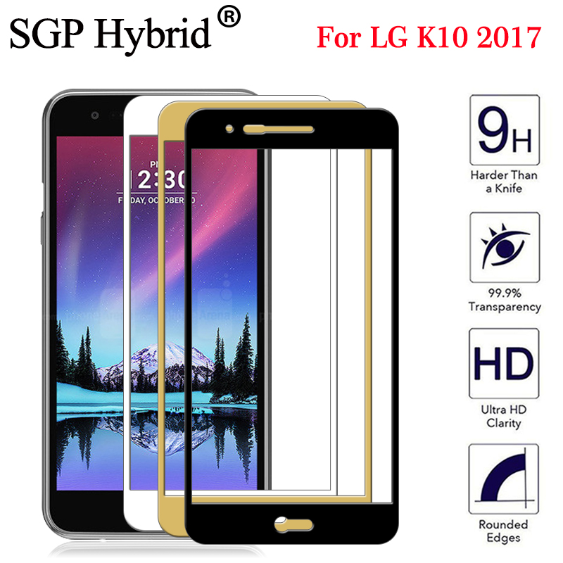 9H Full Screen Protector Tempered Glass for Lg K10 2017 X400 M250N protective glass for LG K10 K11 2018 K 10 11 lgk10 lgk11 film(China)