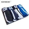 Sofibery superventas envío gratis marca underwear hombres boxers underwear algodón underwear hombres sexy underwear 4 unids/lote