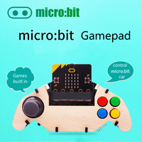 Gamepad expansion module for micro:bit Joystick and Buttons plays music powered from battery also charges the battery
