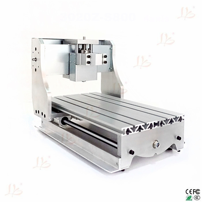 High quality CNC router frame 3020Z with ball screw for DIY CNC router engraver milling machine free tax to eu high quality cnc router frame 3020t with trapezoidal screw for cnc engraver machine