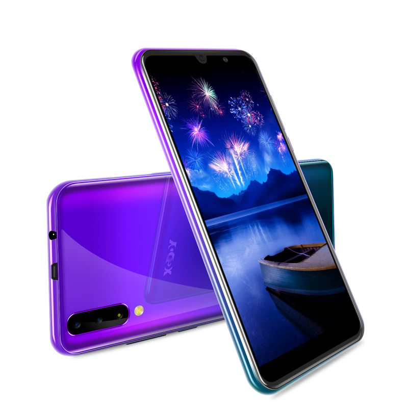 New XGODY P30 Mobile Phone Android 9.0 6 18:9 2G 16G Cellphone MTK6580 Quad Core Dual Sim 5MP Camera GPS 3G Celular Smartphone