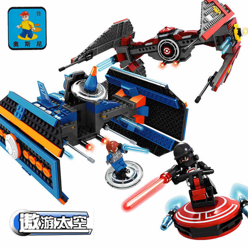 model building kits compatible with lego city spaceship 551 3D blocks Educational model & building toys hobbies for children model building kits compatible with lego city spaceship 3d blocks educational model