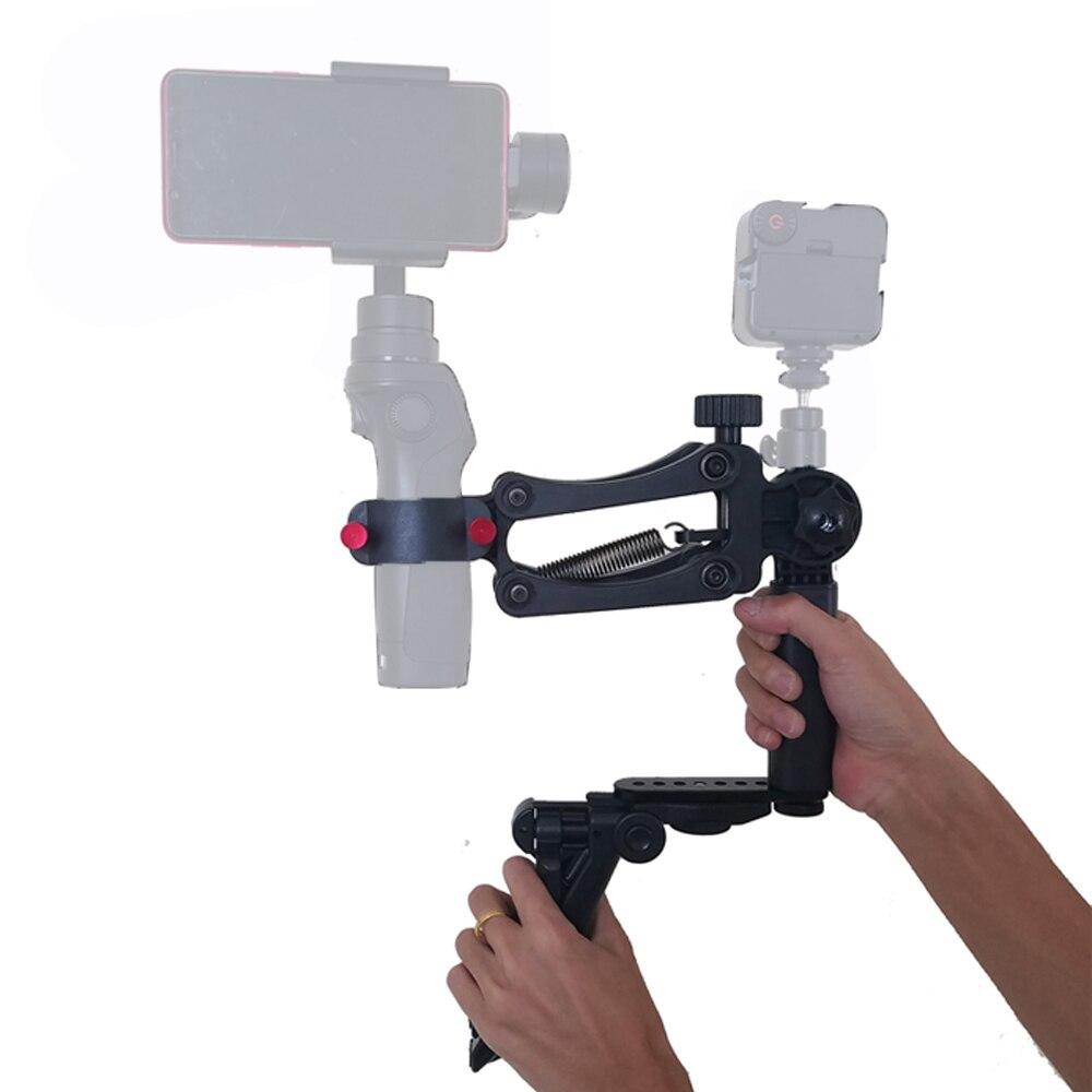 Handheldr téléphone cardan stabilisateur trépied pour téléphone portable cardan Smartphone OSMO ZHIYUN lisse 4 Feiyu vidéo photographie Studio