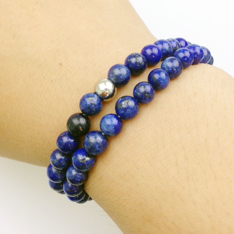 blue to enlarge bracelet connexions spirit spot stone click bracelets