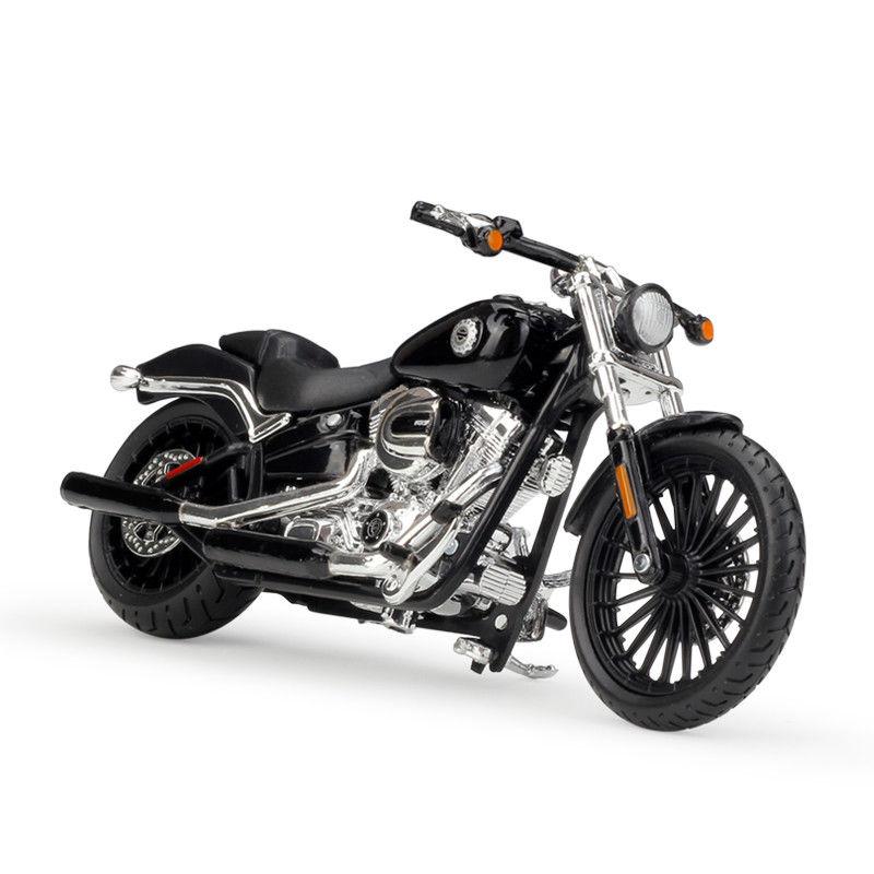 Maisto 1:18 Harley 2016 BREAKOUT Motorcycle Diecast Metal Bike Model NEW IN BOX maisto 1 18 honda africa twin dct crf1000l motorcycle bike diecast model toy new in box