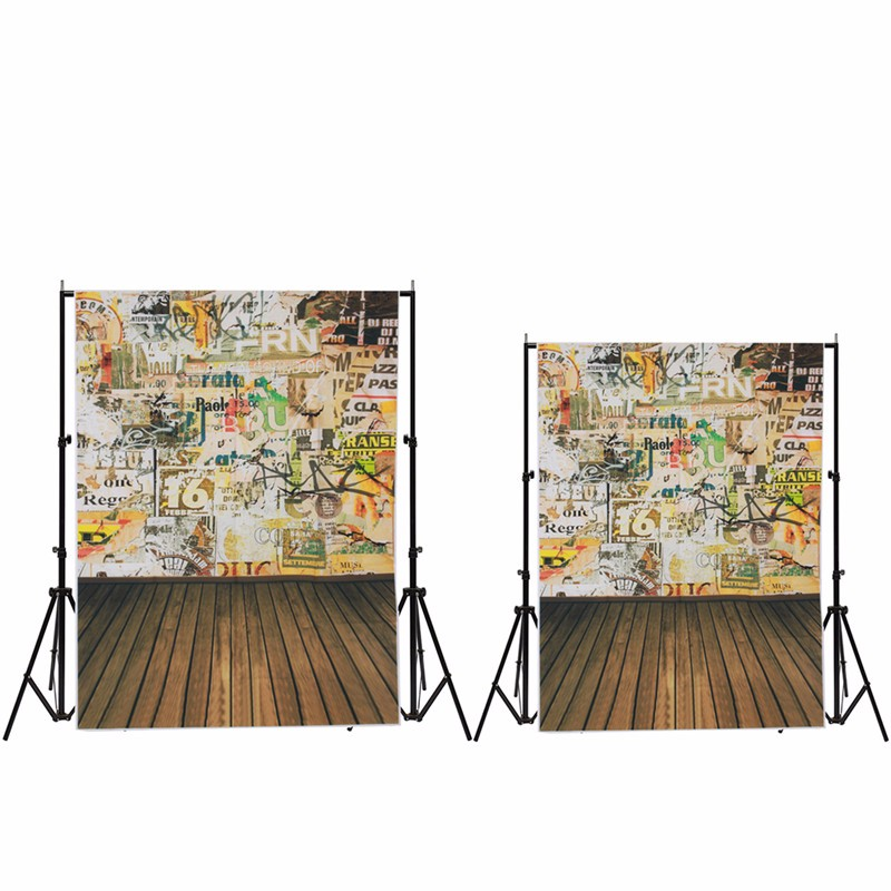 3x5FT/5x7FT Vinyl Graffiti wall Photography Background Studio Photo Prop Wood Floor photographic Backdrop cloth waterproof 5x7ft baby bear kids floor wall window photography background studio photo prop photographic backdrop cloth 1 5x 2 1m